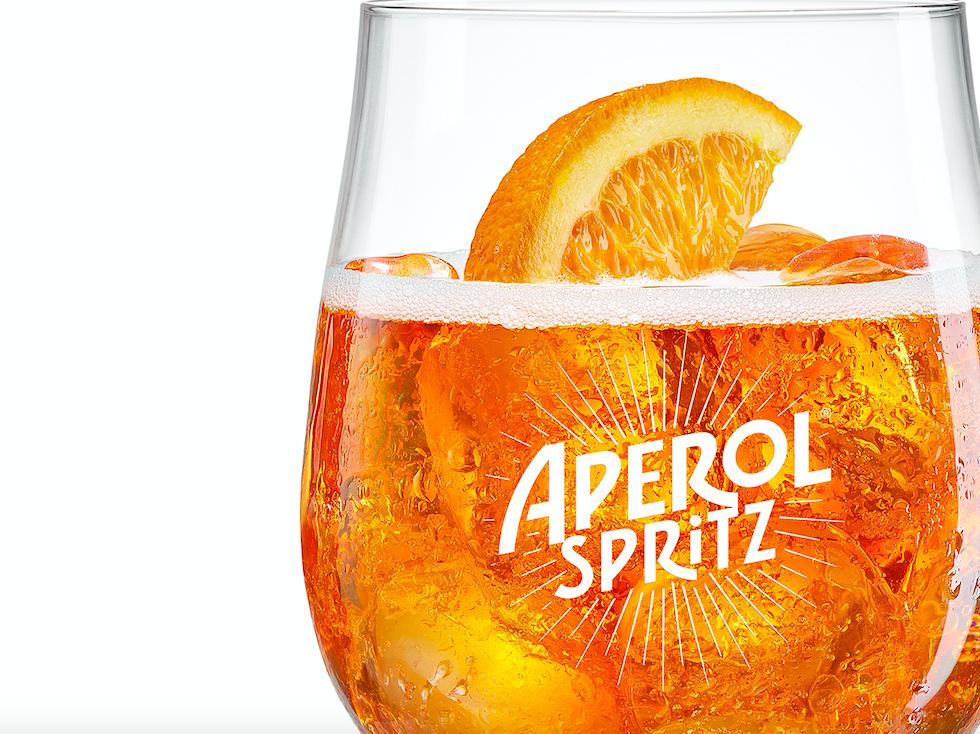 aperol spritz coctel receta