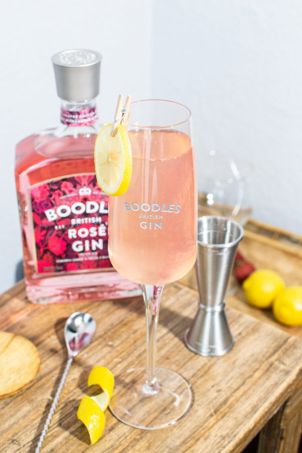 LONDON LEMONADE BOODLES ROSE GIN COCTEL
