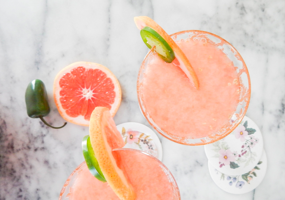 summer punch coctel gin rosé