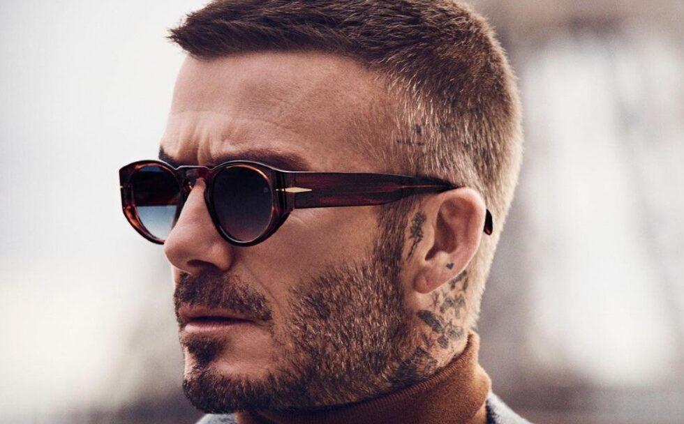 corte de pelo de David Beckham