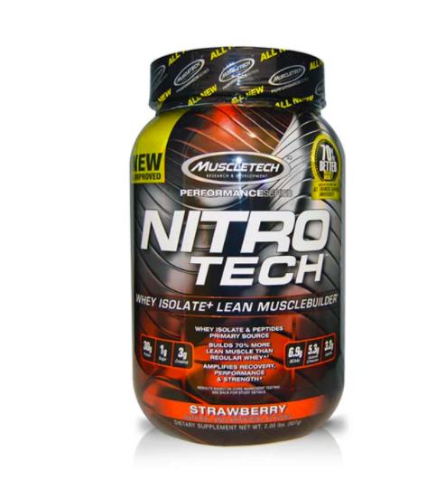 las mejores proteínas para ganar masa muscular nitro