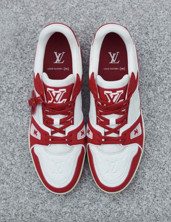 Louis Vuitton I (RED) TRAINER venta en México-2