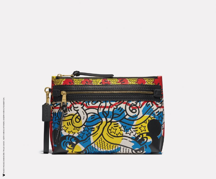 5217_l38_MICKEY X KEITH HARING ACADEMY POUCH IN MULTICOLOR MICKEY PRINT-Photo Credit TM _ © Disney. © Keith Haring Foundation-2
