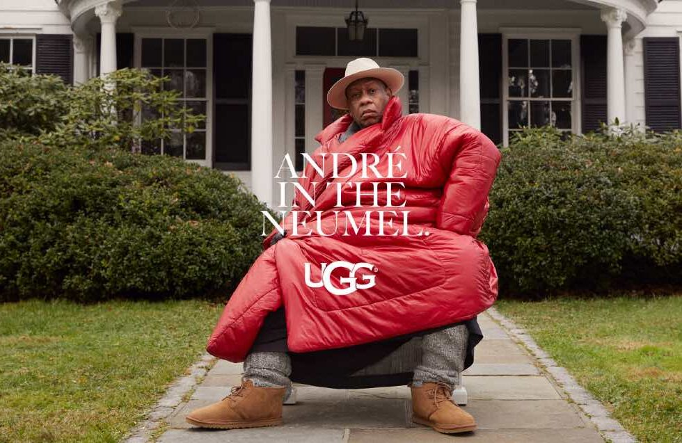 André Leon Talley campaña FEEL ____ UGG