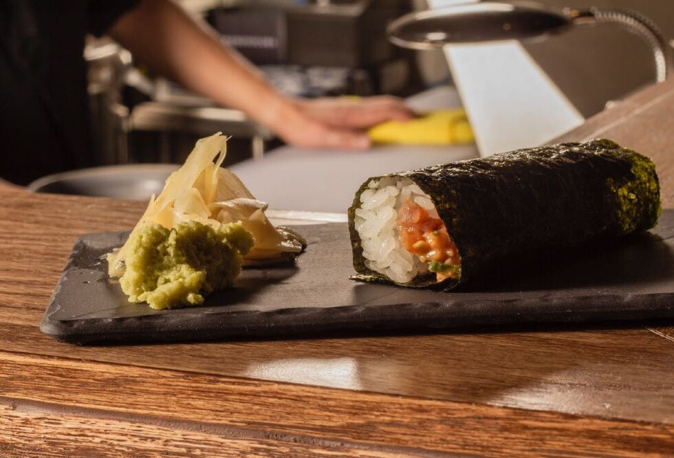 HAND ROLL SUSHI BAR COLONIA ROMA CDMX