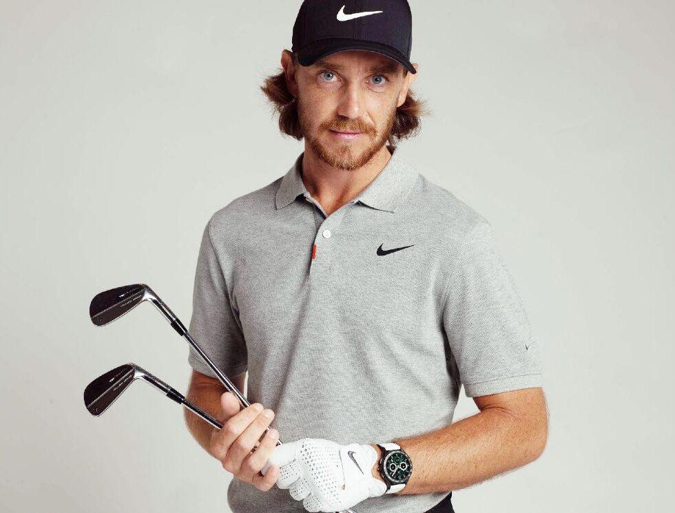 Tommy Fleetwood y el TAG Heuer Connected Golf Edition
