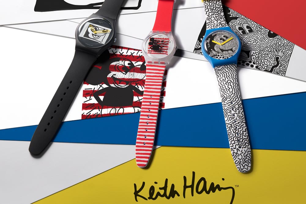 Colección Disney Mickey Mouse x Keith Haring de Swatch