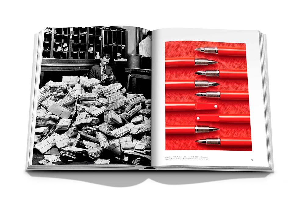 Montblanc: Inspire Writing - Coffee Table Book x Assouline