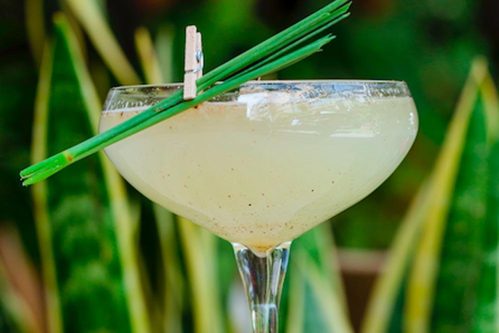 Margarita Remedios con vino blanco