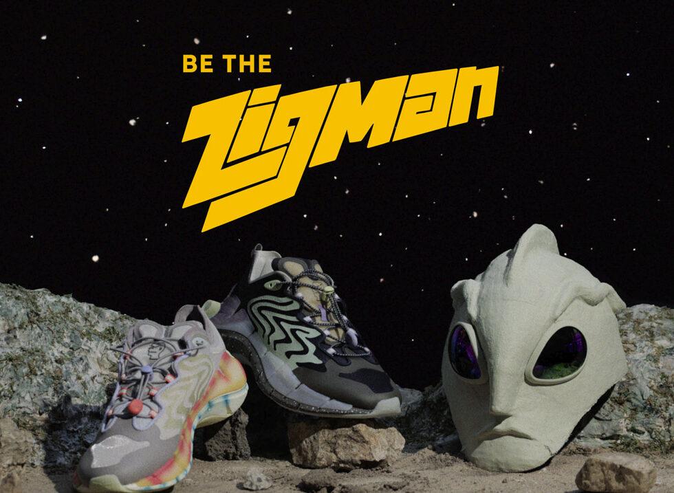 Reebok y Brain Dead presentan los Zig Kinetica II con un film